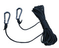 Big Game LA050 Lift Cord, 30' Nylon - Rope with 2 HD Carabiner Clips - LA050