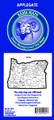 Big Sky 602 Map Applegate Oregon - GMU Map - 602