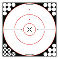 "Birchwood Casey 34019 Shoot-N-C - Bullseye 12"" White/Black X Target - 34019"