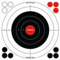 "Birchwood Casey 33912 Stick-A-Bull - 12"" Bullseye Target 5/Pk - 33912"