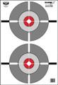 """Birchwood Casey 37207 Eze-Scorer - 12X18"""" Double Bullseye 10 Targets - 37207"""
