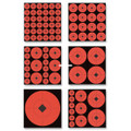 "Birchwood Casey 33928 Target Spots - Assortment 60-1"" 30-2"" 20-3"" Targets - 33928"