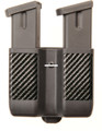 Blackhawk 410610CBK CQC Double - Magazine Pouch Double Stack Carbon - 410610CBK