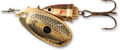Blue Fox 60-00-801IC Classic Vibrax - Spinner, 7/64 oz, Gold Shiner - 60-00-801IC