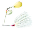 Booyah BYBC38615 Colorado Blade - Spinnerbait, 3/8 oz, Snow White - BYBC38615