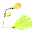 Booyah BYBC38617 Colorado Blade - Spinnerbait, 3/8 oz, Chartreuse - BYBC38617