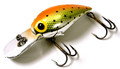 "Brad's BW-11 Wiggler Crankbait, 3"" - 3/8 oz, Orange & Chartreuse with - BW-11"