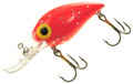 "Brad's BW-109 Wiggler Crankbait, 3"" - 3/8 oz, Fluorescent Red with Silver - BW-109"