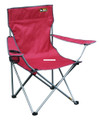 Bravo Sports 146115 Quik Chair Brnz - Series Steel Frame 225Lb Bright Red - 146115