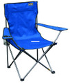 Bravo Sports 146111 Quik Chair Brnz - Series Steel Frame 225Lb Royal Blue - 146111