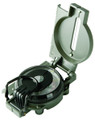 Brunton F-9077 Lensatic Mil Style - Compass Green Metal Body - F-9077