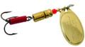 Buds Lure BS.503.B.BX Steelhead - In-Line Spinner, #3, Brass - BS.503.B.BX