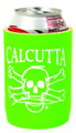 Calcutta CCCLG Can Cooler Lime - Green w/Wht Logo - CCCLG