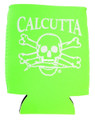 Calcutta CPCLG Pocket Can Cooler - Lime Green w/Wht Logo - CPCLG