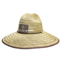 Calcutta BR209335 Straw hat with - chin strap One size - BR209335