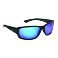Calcutta OR1BM Outrigger Sunglasses - Black Frame Blue Mirror Lens - OR1BM