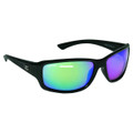 Calcutta OR1GM Outrigger Sunglasses - Black Frame Green Mirror Lens - OR1GM