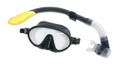 Calcutta BR57616 Mask & Snorkel Set - Med/Lg WideView Single Silicon Mask - BR57616