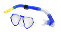 Calcutta BR57612 Mask & Snorkel Set - Med/Lg WideView 2Window Silicon - BR57612