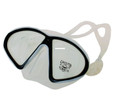 Calcutta BR57623 Silicone - Snorkeling Mask, Med/Lg 2Window - BR57623