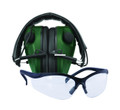 Caldwell 487309 E-Max Low Pro Elec - Muff w/ Shooting Glasses - 487309