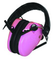 Caldwell 487111 E-Max Low Profile - Electronic Hearing Protection -pink - 487111