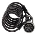 Capstone 67221 Combo Bicycle Lock - w/6 ft cable - 67221