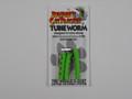 Cat Tracker CCTU3-HG CTTU3-HG Tubie - Worm Hot Green 3/Pk - CCTU3-HG