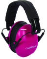 Champion 40972 Slim Ear Muffs - Passive Protection, NRR 21dB, Pink - 40972