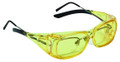 Champion 40634 Over-Spec Ballistic - Glasses, Amber - 40634