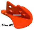 Church Tackle 40304 Stingray Diving - Weight, #2 1.4oz orange 2/pk - 40304