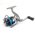 Clam 10141 Dave Genz Big Fish Reel - 6bb, folding Handle, alum spool - 10141
