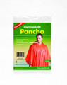 Coghlans 9267 Lightweight Poncho Org - 9267