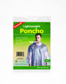 Coghlans 9266 Lightweight Poncho - Clear - 9266