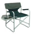 Coleman 2000032011 Outpost Elite - Steel Deck Chair with Table, Holds - 2000032011