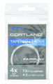 Cortland 605077 Fairplay Leaders - Clear 7.5 Ft 6X - 2.5 Lb - 605077
