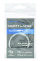 Cortland 605046 Fairplay Fly Leader - 3X 7.5' No Loop 5.5Lb - 605046