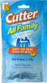 Cutter HG-95838 All Family Mosquito - Wipes, 7.5% DEET 15Ct. - HG-95838
