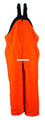Deer Camp 99P-L-OR Bibs Large Blaze - Orange - 99P-L-OR