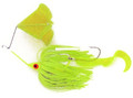 Dixie Dancer DDW04 Spinnerbait, 3/8 - oz, Tandem Willow Blades, Chartreuse - DDW04