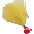 Double OO 61504 Flu-Flu Jig, 1/64 - oz, Sz 10 Hook, Pink/Yellow - 61504