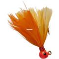 Double OO 61747 Flu-Flu Jig, 1/64 - oz, Sz 10 Hook, Orange/Orange & - 61747