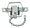 """Duke 0502 Coil Spring Trap, Square - Jaw, #4 CS 4X, 6.5"""" Jaw Spread - 502"""