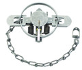 "Duke 0470 Coil Spring Trap #1 1/2 - CS, 4.75"" Jaw Spread, Raccoon,Fox - 470"
