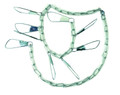 """Eagle Claw ASTVCH-9 9Snap Deluxe - Vinyl Coated Chain Stringer 46"""" - ASTVCH-9"""