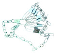 """Eagle Claw 04300-005 Chain String - 46"""" 9-Snap - 04300-005"""
