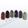 Eco Pro WW-116BLACK Tungsten Worm - Weights 1/16oz Black 5Pk - WW-116BLACK
