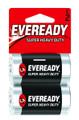 Energizer 1235SW-2 Super Heavy Duty - Batteries C 2Pk - 1235SW-2
