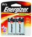 Energizer 522BP-2 MAX Alkaline - Batteries 9V 2Pk - 522BP-2