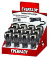 Eveready EVML33ASD 3 LED Metal - Flashlight, Includes 3 AAA - EVML33ASD